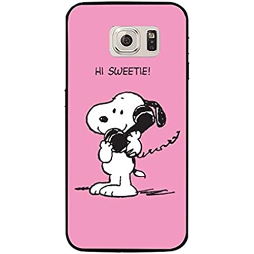 Unique Design Snoopy Phone Case Cover for Samsung Galaxy S7 Snoopy Cartoon Design Sales