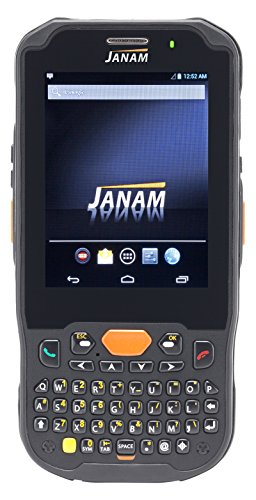 Janam XM5-ZNKLRDGV00 Series XM5 Handheld Computing Devices, WEH 6.5, 1D Laser Scanner, 802.11ABGN, GPS, HD RFID, Camera, 4000 mAh, Numeric Keypad by JANAM