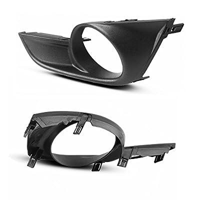 AUTOSAVER88 Fog Lights Compatible with 2013 2014 2015 Nissan Altima Sedan (Clear Glass Lens w/Bulbs): Automotive