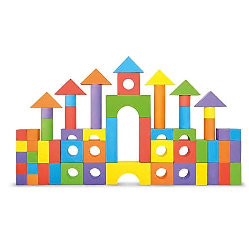 Foam Building Blocks, Building Toy for Girls and Boys, Ideal Blocks/Construction Toys (Construction Block)