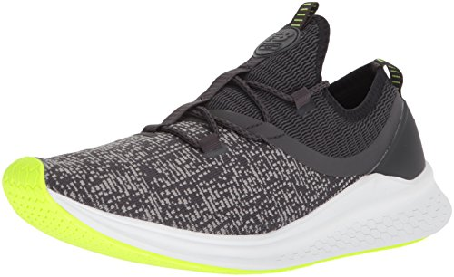 New Balance Men's Fresh Foam Lazr v1 Sport Running Shoe, Phantom/Hi Lite/White Munsell, 12 D US