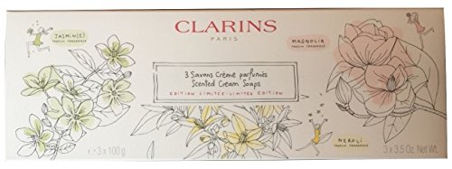 Clarins Limited Edition Scented Cream Soaps - 3 x 3.5 oz