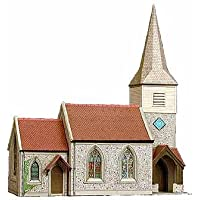 B29 Superquick Country Church - 1/72 OO/HO - Card Model Kit