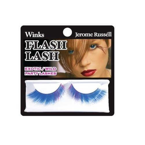 Jerome Russell Winks Flash - Jerome Russell Winks Flash Lash, 80's Blue by Jerome Russell