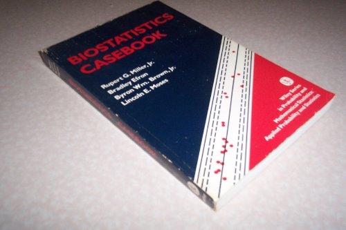 Biostatistics Casebook (Probability & Mathematical Statistics S.)