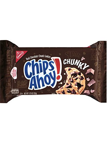 Chips Ahoy! Chocolate Chip Cookies, Chunky, 11.75 Ounce Package (Pack of 2) (Best Chunky Chocolate Chip Cookies)