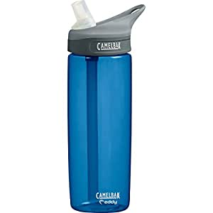 CamelBak eddy .6L Water Bottle (0.6-Liter/20-Ounce,Blue)