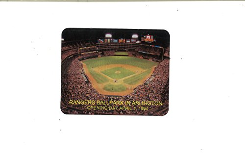 Opening Day Ballpark in Arlington Texas Rangers Image Commemorative Metal Plaque 3x4 Metal Plate - Arlington Ballpark Texas Rangers