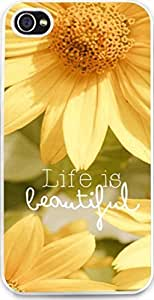 Iphone 5S Case life is Beautiful Stylish, slim, durable and lightweight Asas's Case