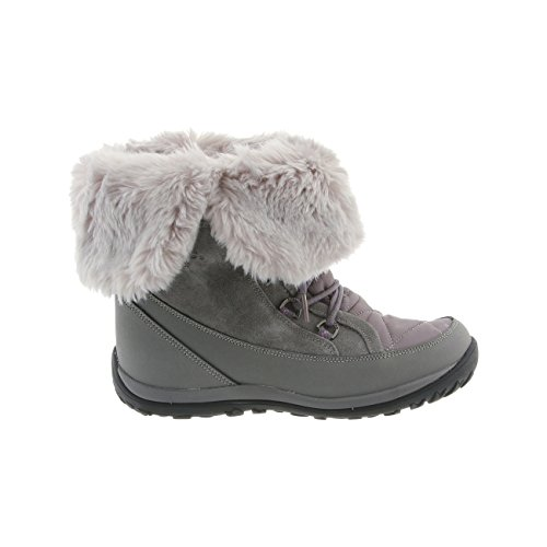 Waterproof 6 Snow Boots Size Nylon Gray Sheepskin Women's BEARPAW Whitney NeverWet OwFCBEqnZx