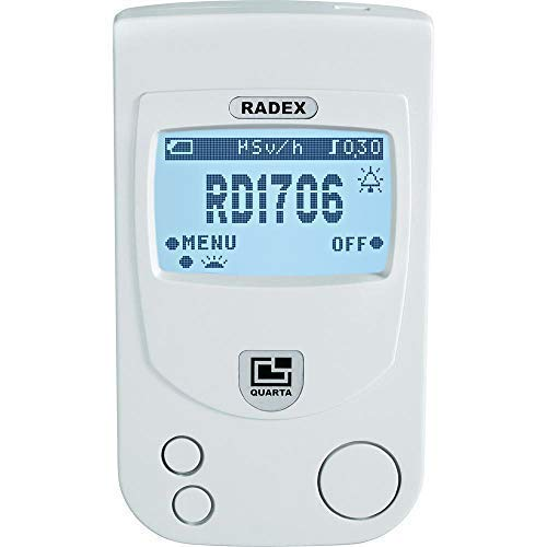 RADEX RD1706 Dual-Pro Professional dual-sensor Radiation Detector/Geiger Counter