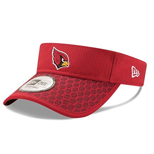 Cardinal Visor - Arizona Cardinals New Era 2017 Sideline Official Visor Cardinal