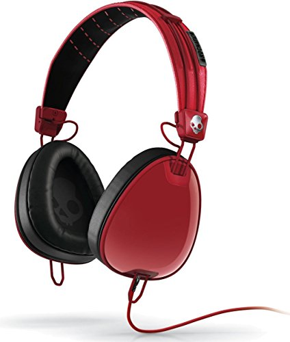 Skullcandy Aviator Headphones Mic3 (Red/Black/Wayfarer)