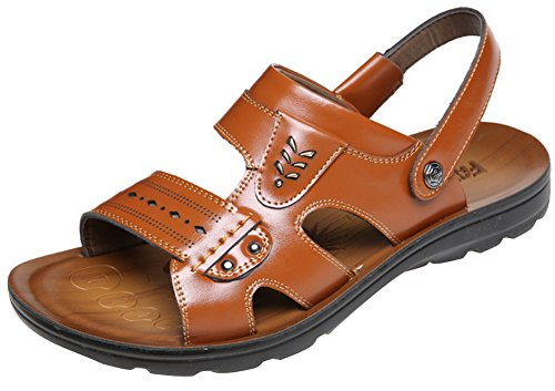 Hommes en plein air chaussures sandales cuir so... TyoeRU5QaY