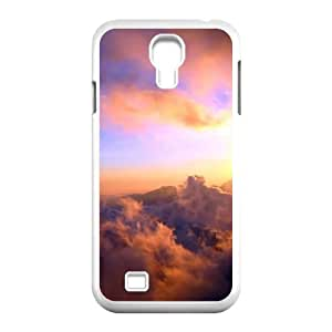 Custom Colorful Case for SamSung Galaxy S4 I9500, Sunset Cloud Cover Case - HL-696016