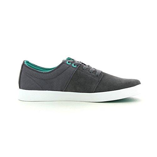 Supra Footwear - Stacks II Charcoal/Atlantis-White 40Eu
