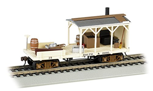 Bachmann Industries Old Time Maintenance of Way Blacksmith B&O Freight - Freight Car American