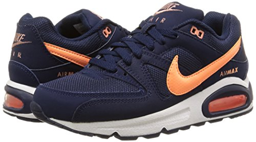 new styles 6510e a5a18 Nike Air Max Command, Women's Low-Top Sneakers, Midnight Navy/Sunset Glow,  3.5 UK: Amazon.co.uk: Shoes & Bags