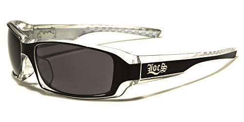 Locs Two Tone Original Gangsta Shades Fashion Statement Translucent Frame - Australia Locs Sunglasses