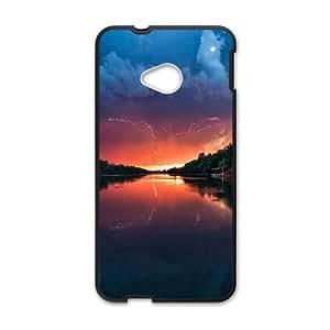 Sunset Landscapes HTC One M7 Cell Phone Case Black DIY Present pjz003_6624946