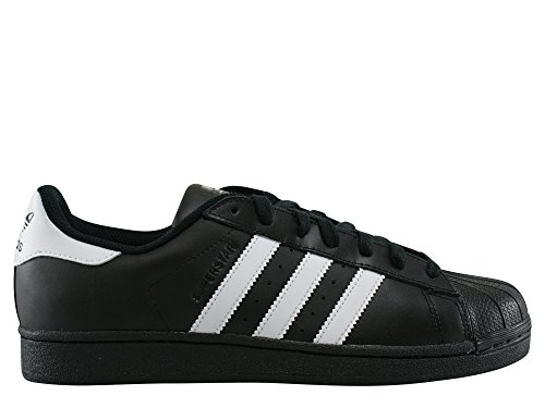 adidas Superstar, Baskets Basses Homme, Noir/Noir, 47 EU Noir (Core Black/footwear White/Core Black)