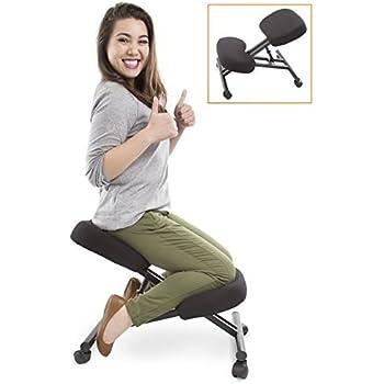 Amazon Com Proergo Ergonomic Kneeling Chair Adjustable