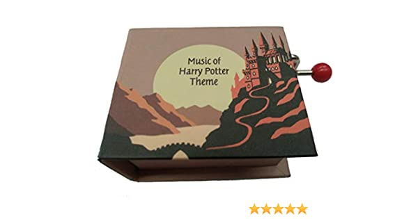 Protocol Caja de Musica con Libro manivela y melodia Harry Potter ...