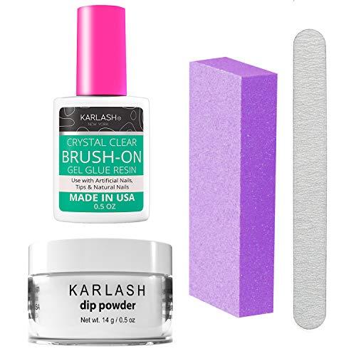 Karlash Nail Repair Kit for Broken Cracked Split Nails. Emergency Easy Quick Fix