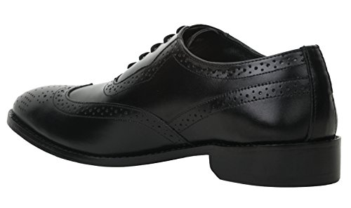liberty leather wingtip oxford dress shoe 11 black buy