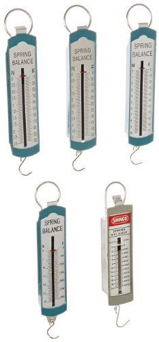 Ajax Scientific 5 Piece Spring Scale - Scale Balance Spring