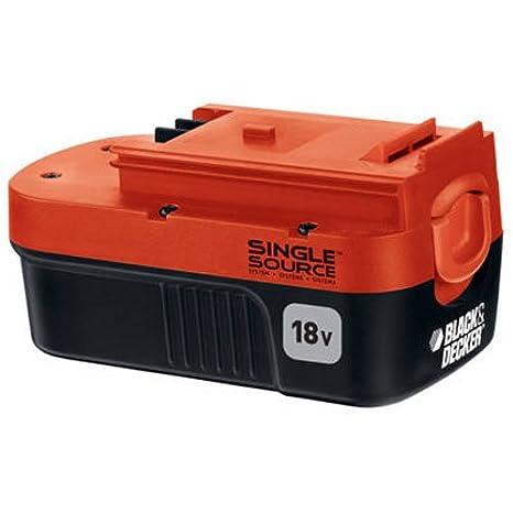 Fantastisk! Fantastisk mad Amazon.com : BLACK+DECKER 18 Volt Battery NiCd Single (HPB18-OPE KW84