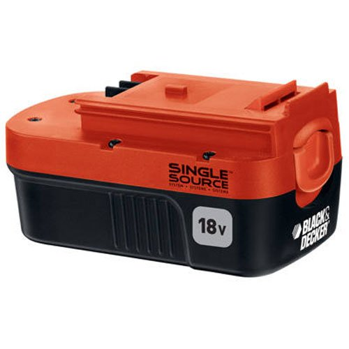 Black & Decker HPB18-OPE 18-Volt Slide Pack Battery For 18-Volt Outdoor Cordless Power Tools
