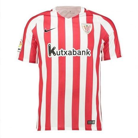 Nike 808519 Camiseta de Fútbol Oficial Athletic Club Bilbao, 1ª Equipación 2016-2017, Niño: Amazon.es: Deportes y aire libre