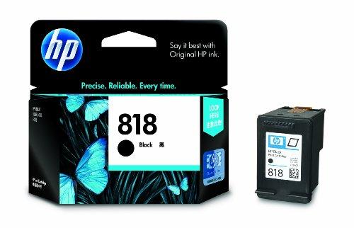 HP 818 Ink Cartridge  Black