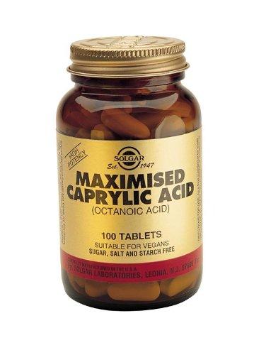 Caprylic Acid 100 Tabs 2-Pack
