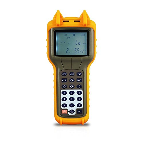 Meter Digital Signal Level (RY S110 CATV Cable TV Handle Digital Signal Level Meter DB Best Tester 47MHz ~ 870MHz)