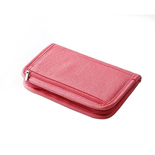 SUSU Travel Passport Wallet Case Family Passport Holder Organizer 4 Passport Cover for Women, Mom, Girls by SUSU (Image #5)