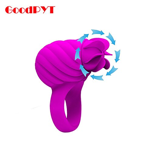 Lovepan Silicone 3 Function of Rotation USB Recharge Teaser Cock Ring Delay Ejaculation by Lovepan