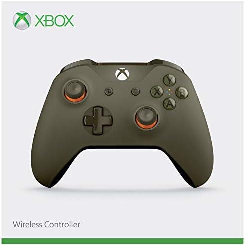 Microsoft - Mando Inalámbrico, Color Verde/Naranja (Xbox One), Bluetooth: Amazon.es: Videojuegos