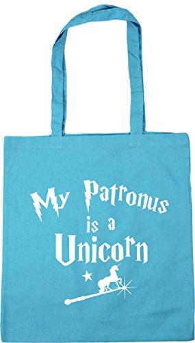 Is Tote My Bag litres HippoWarehouse Beach A Patronus x38cm Surf Blue Unicorn Gym Shopping 42cm 10 dwEqqXxRT