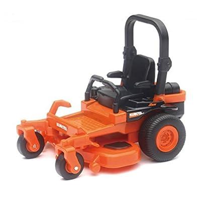 1/64 Kubota Z700 Zero Turn Lawn Mower, Pull Back Action: Toys & Games