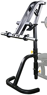 Powertec Fitness Workbench Leg Press Accessory, Black