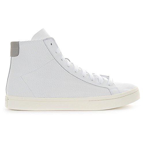 Scarpe Adidas Uomo Corte Medio Bianco / Bianco S79392 (11 Us)