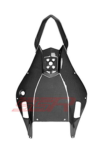 (2006-2007) Yamaha YZF-R6 Carbon Fiber Fibre Rear Under Tail Lower Tray Cover Fairing (R6 Yzf Lower)