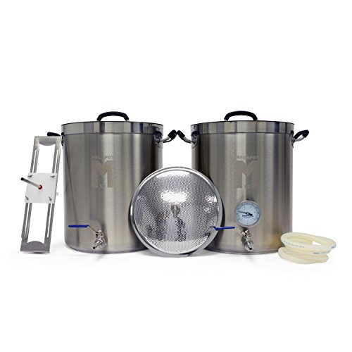 MegaPot 1.2 All Grain Beer Brewing Equipment System - 10 Gallon Kit