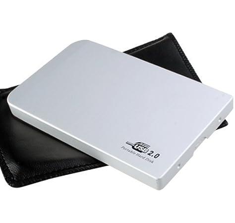 TOOGOO(R) USB 2.0 Caja externa p Disco Duro aluminio IDE 2.5 inch ...