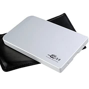 TOOGOO(R) USB 2.0 Caja externa p Disco Duro aluminio IDE 2.5 inch