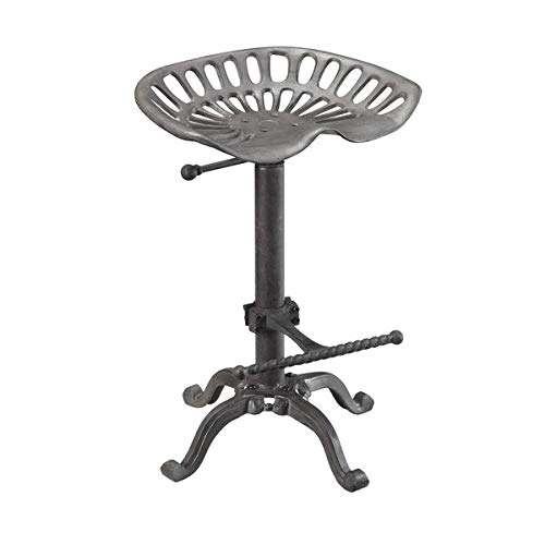 Front Claw Replica - Carolina Cottage Adjustable Stool in Industrial Finish