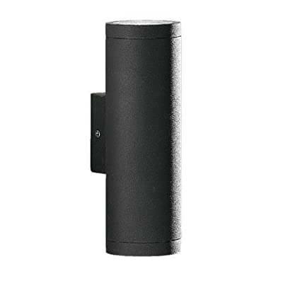 Eglo Lighting 84003A Riga - Two Light Wall Sconce, Anthracite Finish