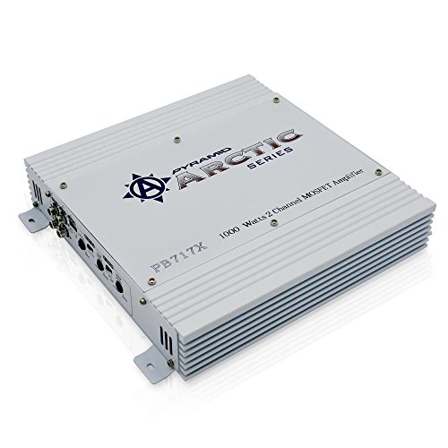 Pyramid PB717X 1,000-Watt 2-Channel Bridgeable Amplifier Chevrolet C20 Pickup Fan